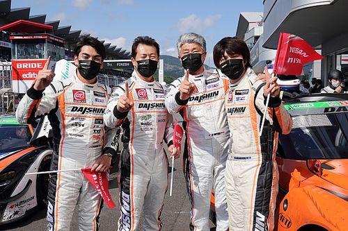 スーパー耐久富士24時間:DAISHIN GT3 GT-Rがトラブルを抱えながらも走り切りS耐初優勝