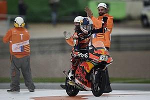 MotoGP riders praise Oncu for