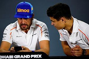 McLaren-coureurs staan positief tegenover eventuele testrol Alonso