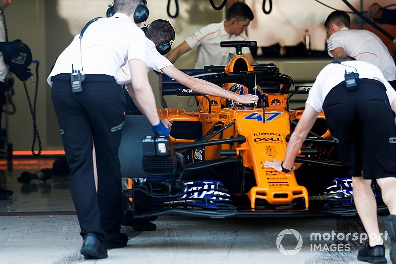 McLaren releases video of 2019 F1 car fire-up