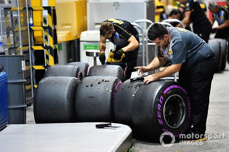 Ricciardo 27 kört ment a hiperlágy gumikon Szingapúrban