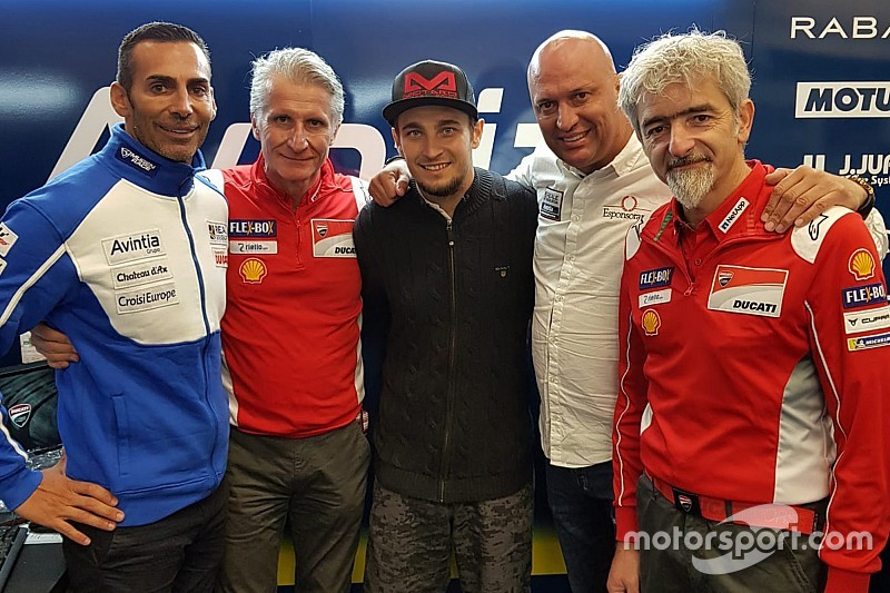 Abraham pens two-year Avintia Ducati MotoGP deal
