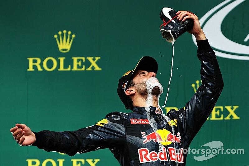 Het tijdperk van Ricciardo bij Red Bull in twaalf foto's