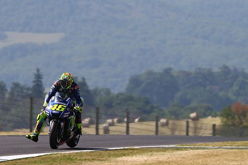 Valentino Rossi, roi du plus gros freinage à San Donato!