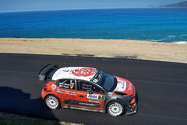 Korsika WRC: Meeke ilk günü lider tamamladı
