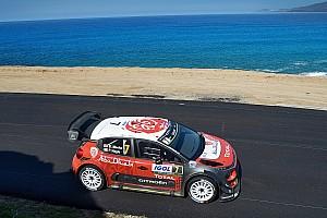 WRC Yarış ayak raporu Korsika WRC: Meeke ilk günü lider tamamladı