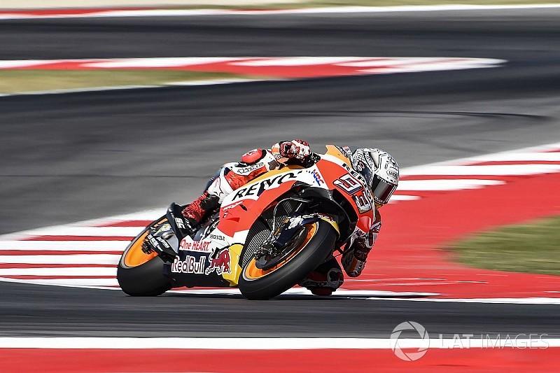 FP1 MotoGP San Marino: Marquez dikepung duo Ducati