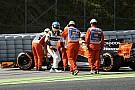 Mesin rusak, Alonso: