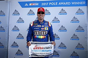 NASCAR Cup Qualifying report Kyle Busch beats Truex for Pocono pole