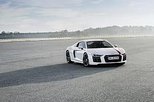 Auto Actualités L'Audi R8 V10 RWS présentée à Francfort