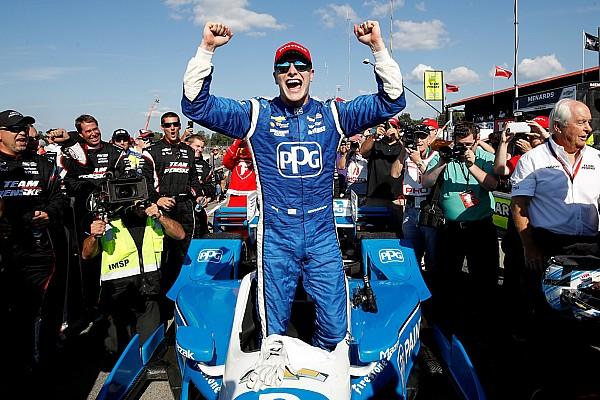 IndyCar Newgarden brilla y ya es líder de puntos  y triunfos