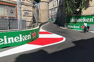 Formel 1 News Nach Unfällen: Formel 1 verändert Randstein in Baku