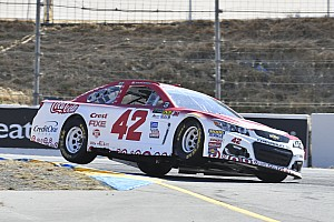 NASCAR Cup Qualifying report Larson and McMurray lock out Sonoma front row for Chip Ganassi Racing