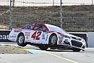 NASCAR Cup Larson e McMurray regalano la prima fila al Chip Ganassi Racing a Sonoma