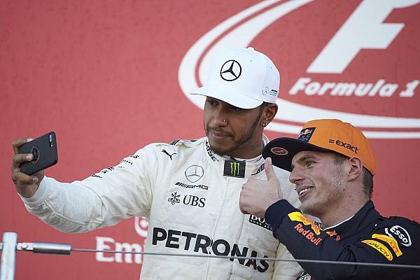 """Formule 1 Nieuws Hamilton verwacht veel van Verstappen: """"Sneller dan Ricciardo in 2017"""""""