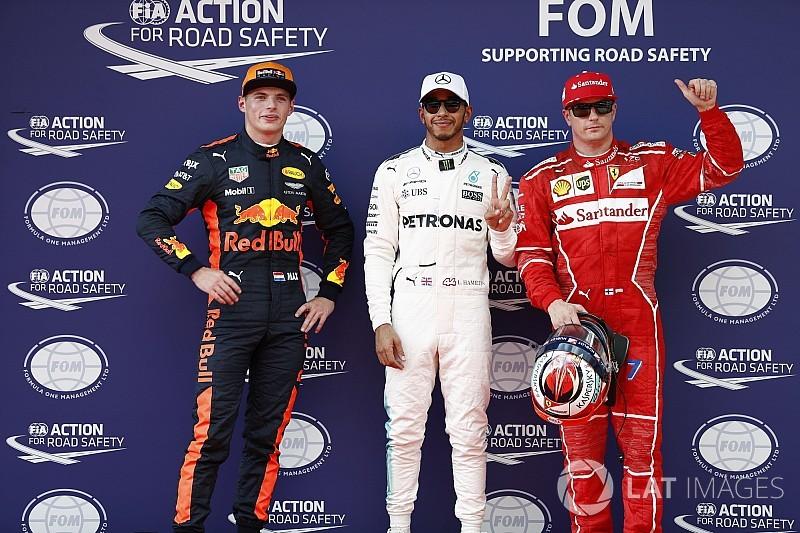 Hamilton hengelt pole binnen in Maleisië, derde startplek Verstappen