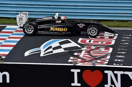 USF2000 Watkins Glen: Dominante winst Van Kalmthout, Askew kampioen