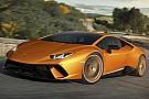 Automotive Lamborghini trekt doek van Huracán Performante