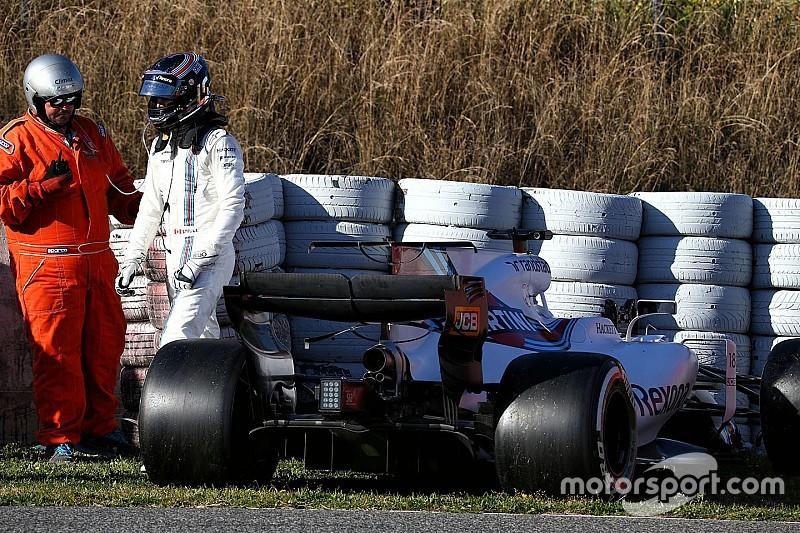 【F1】ウイリアムズ、合同テスト最終日の走行を断念