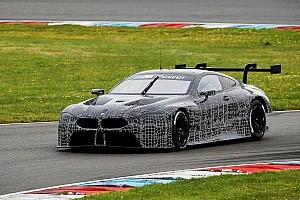 WEC Новость BMW показала свою машину для WEC на трассе
