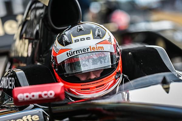 Formula V8 3.5 Race report Bahrain F3.5: Binder fends off Fittipaldi in series finale