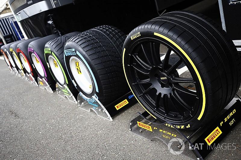 Pirelli anunció los neumáticos para el GP de México
