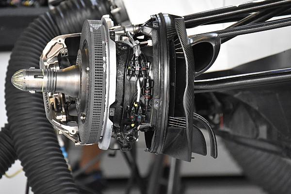 Forma-1 Elemzés Érdekes fékekkel kísérletezett a Williams Silverstone-ban