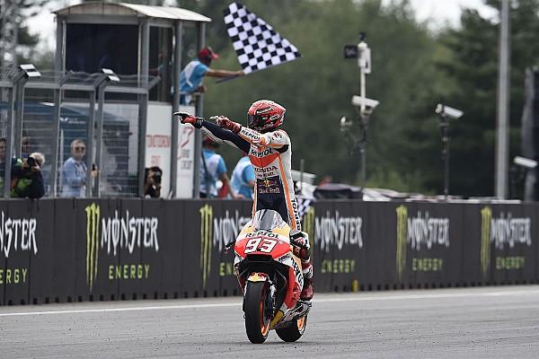 MotoGP Actualités Pour Márquez, ses succès sur le Sachsenring et à Brno ont été décisifs