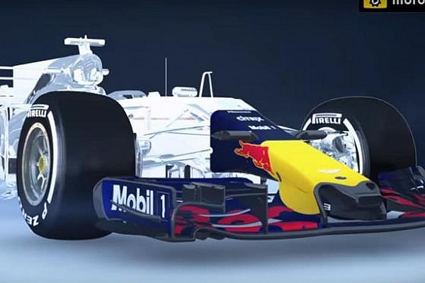 Відео: гнучке переднє антикрило на Red Bull RB13