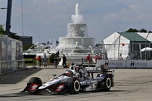 IndyCar Qualifyingbericht IndyCar-Double-Header in Detroit: Graham Rahal bekommt Pole für Rennen 1