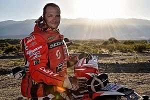 Dakar Intervista Dakar: Simone Agazzi migliore degli italiani tra le moto e commosso