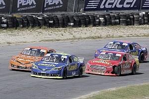 NASCAR Mexico Crónica de Carrera Abraham Calderón festejó en Puebla