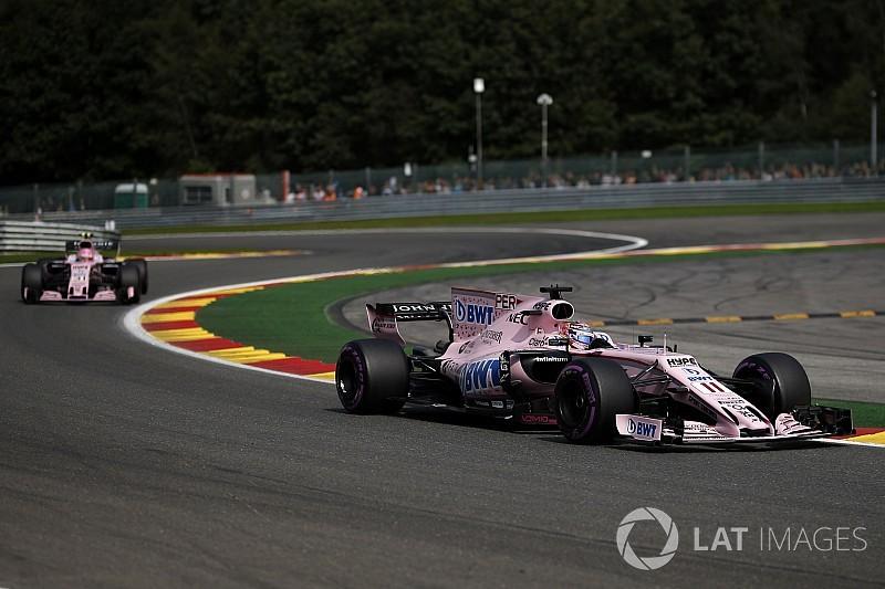 Force India menace Pérez et Ocon de suspension