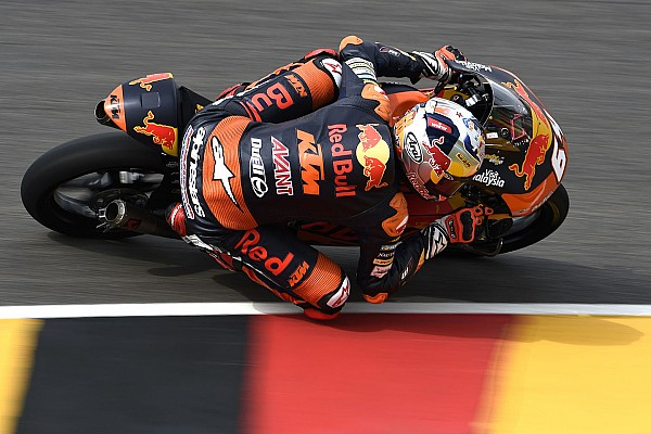 Moto3 Verslag vrije training Warm-up GP Duitsland: P4 Bendsneyder op opdrogende Sachsenring