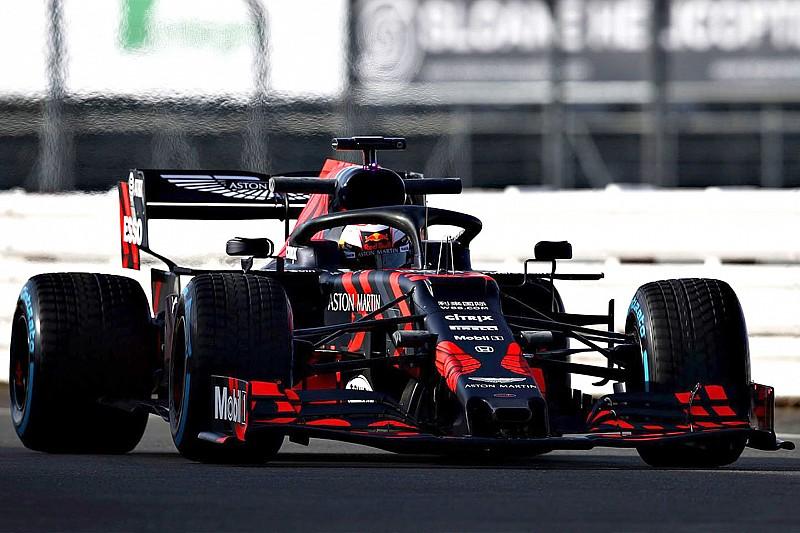 Videó: pályára gurult az első Red Bull-Honda