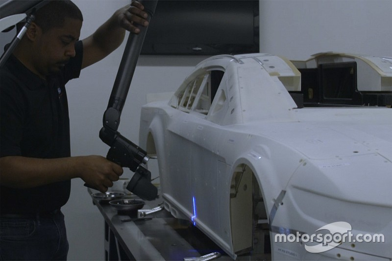 Video: Watch the NASCAR Cup Ford Mustang come to life