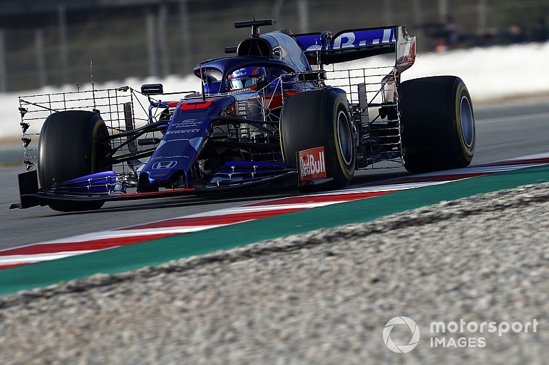 Toro Rosso объявила график работы на вторую неделю тестов