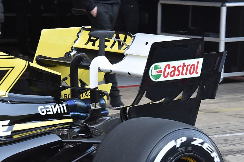 Tecnica Renault: quanti strani esperimenti sugli alettoni della R.S.19
