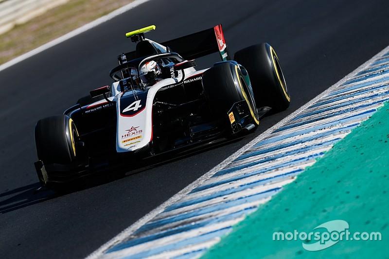 De Vries lidera las pruebas de la F2 en Barcelona
