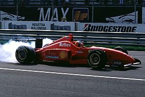 Schumacher első publikus tesztje a Ferrarival 25 éve: videó