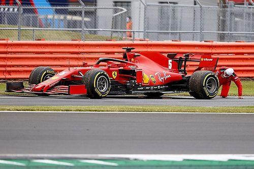 フェラーリ、絶不調のベッテルのシャシー交換も辞さず「それが役に立つなら」