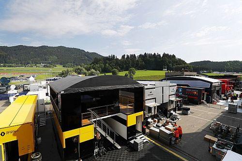 F1開幕戦、パドックの準備着々。例年とは違う光景が広がる