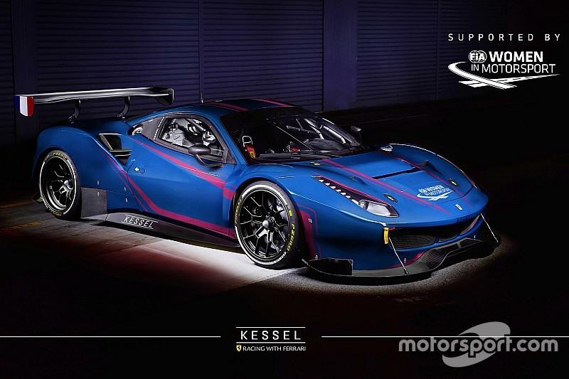 Vier Ferraris und drei... Mädchen für Kessel Racing in Abu Dhabi
