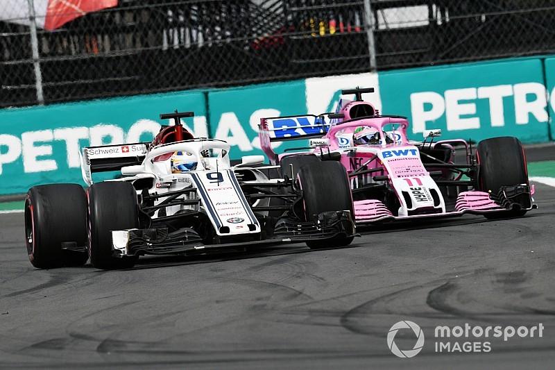 Force India époustouflé par les progrès de Sauber