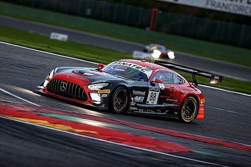 24h Spa: Mercedes-AKKA svetta fra i Top20 delle Qualifiche