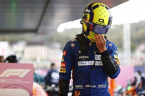 McLaren confía en que Norris se hará más fuerte en la frustración