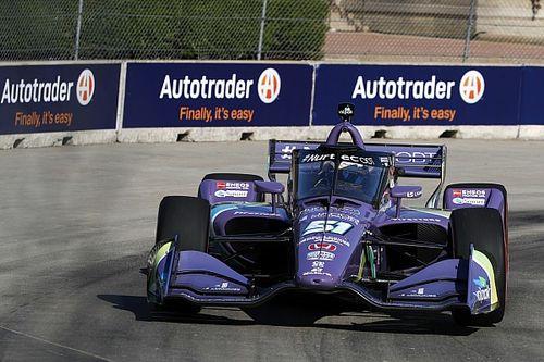 Грожан стал третьим в квалификации IndyCar в Детройте