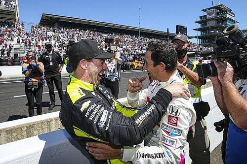 """Castroneves: Partnering Pagenaud again at MSR """"would be awesome"""""""