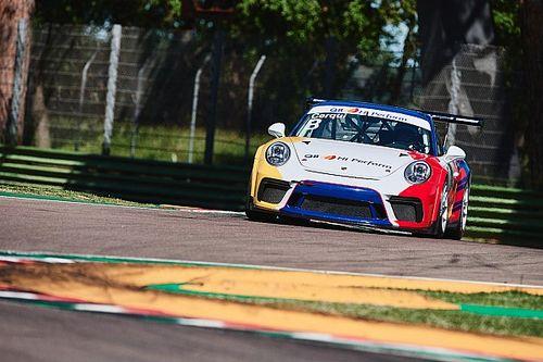 Carrera Cup Italia, test a Imola: Cerqui il più veloce a metà giornata