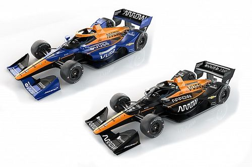 Arrow McLaren SP presenta coches diferentes para O'Ward y Rosenqvist